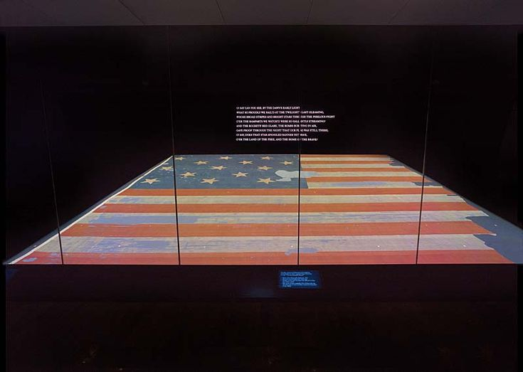 In honor of #FlagDay on Sunday, learn about the huge effort to conserve the Star-Spangled Banner flag.