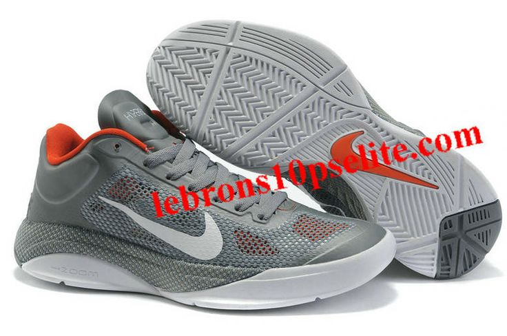 Nike Zoom Hyperfuse Low 2010 Cool Grey/White/Orange