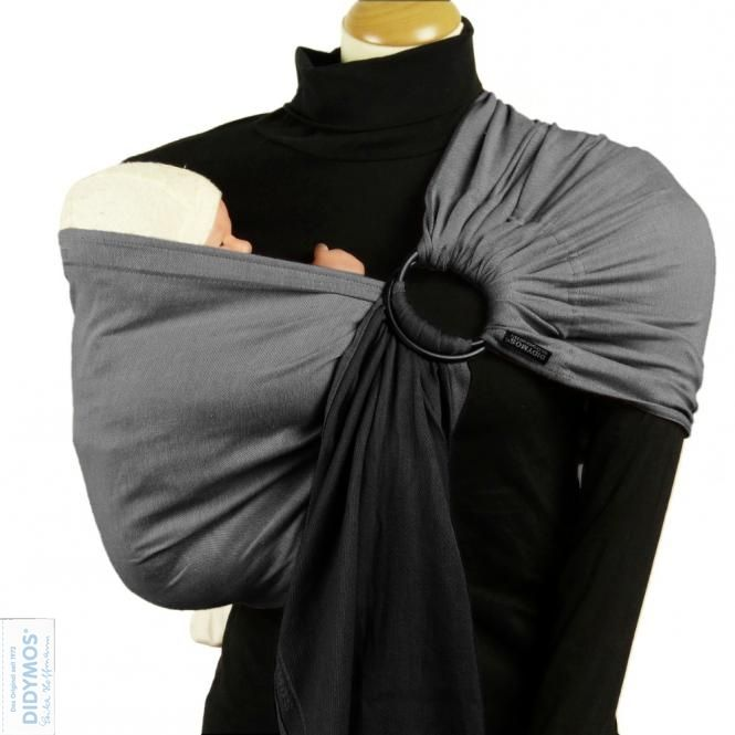 DIDYMOS DidySling Double Face Anthracite