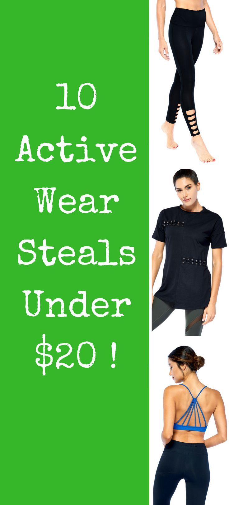 10 of the best active wear styles for under $20!
