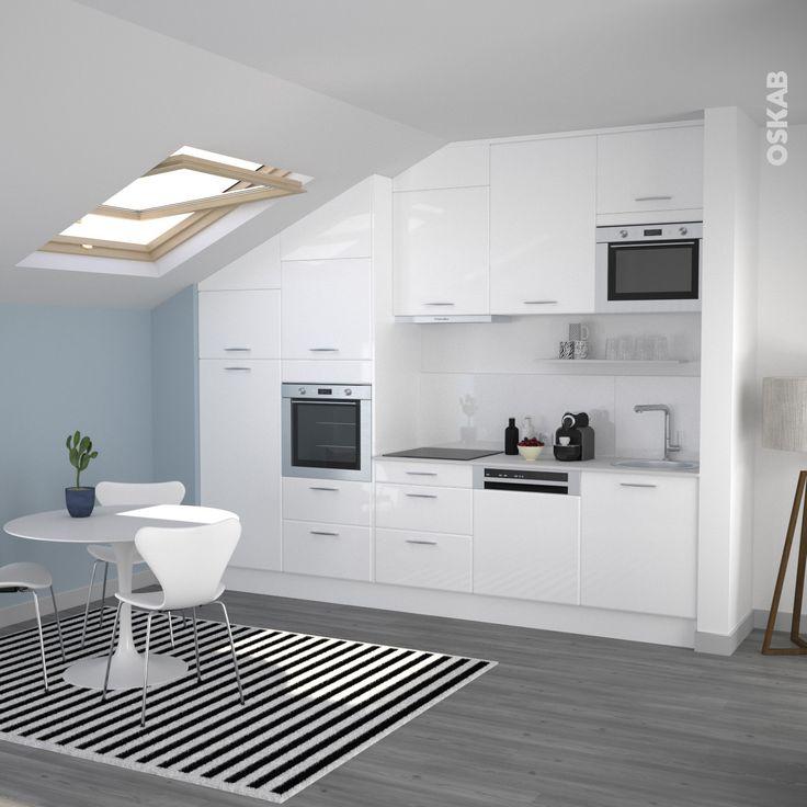 75 best images about petite cuisine quip e oskab on pinterest coins plan de travail and taupe. Black Bedroom Furniture Sets. Home Design Ideas