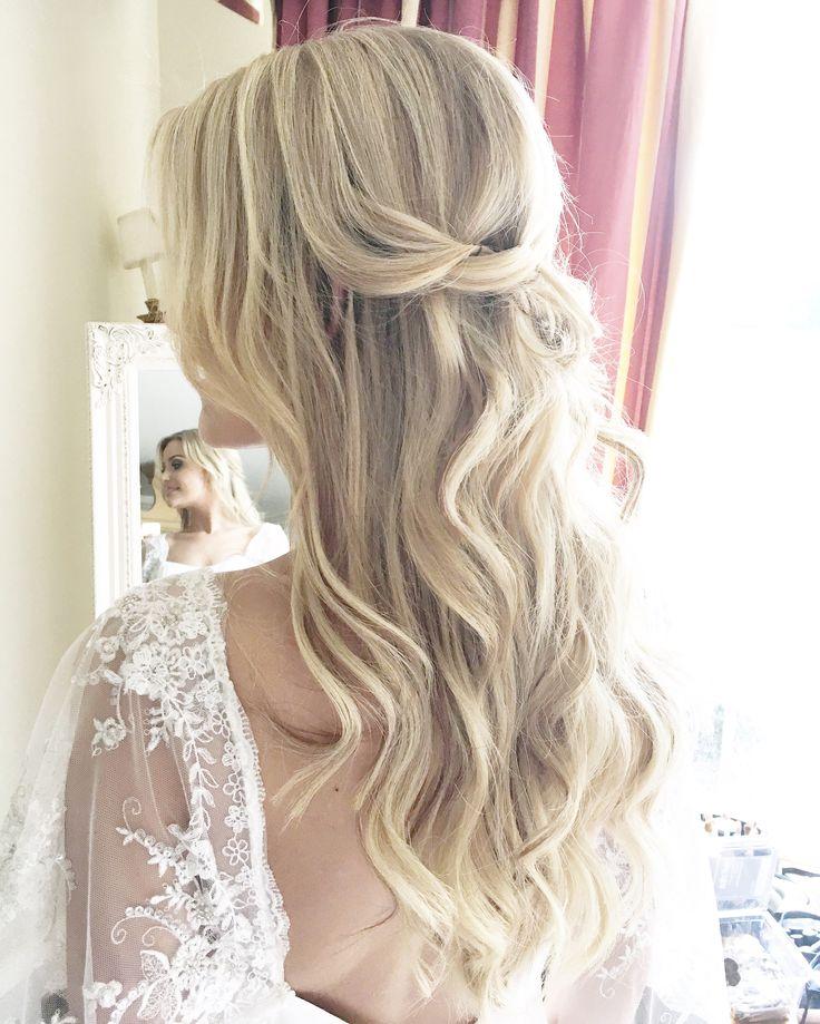 Beachy bridal waves