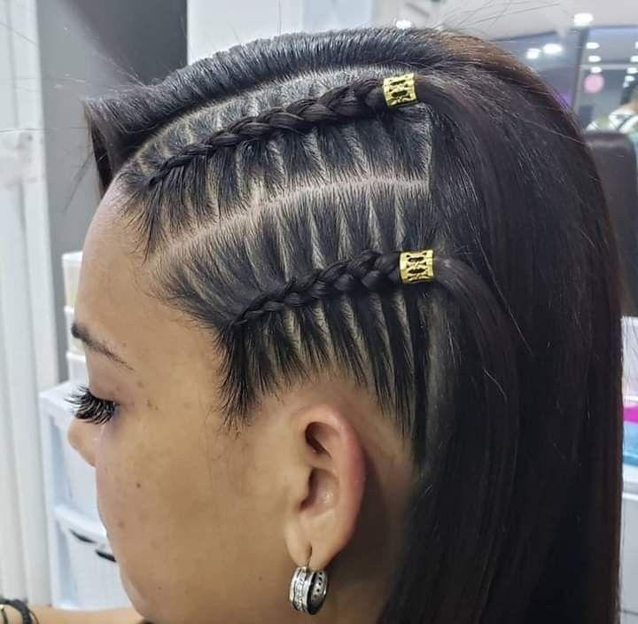 Pin De Adriana Zapata En Peinados Peinados Modernos Con Trenzas Peinados Con Trenzas Cocidas Peinados Sencillos Con Trenzas