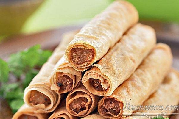 Филиппинские лумпия - Разные закуски - Рецепты - Вкусные рецепты на каждый день