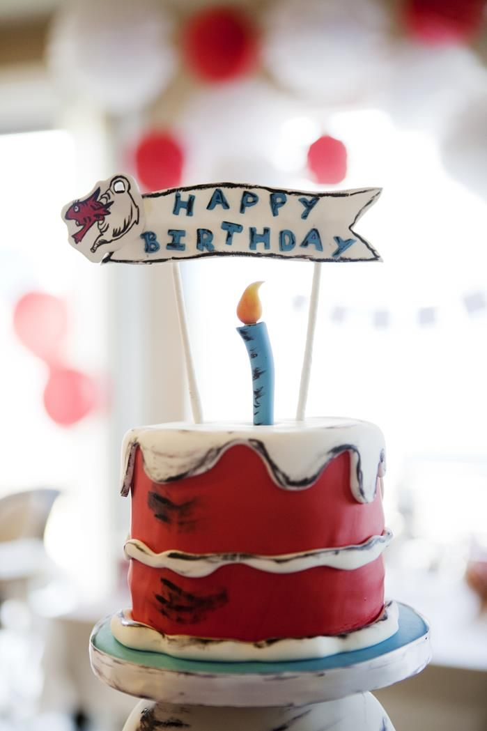 Cat In The Hat Cake Toppers For Birthdays