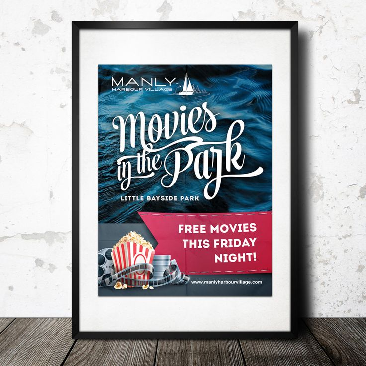 Manly-Harbour-Village-Poster | iCreate Advertising