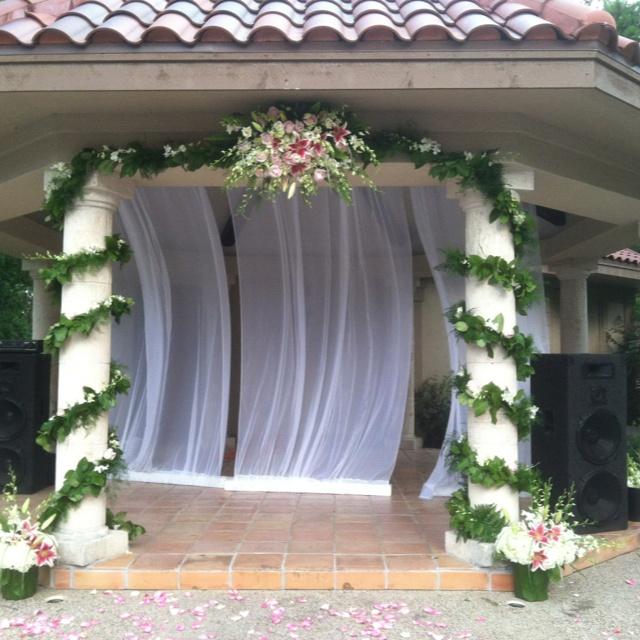 Simple Wedding Gazebo Decorations : Gazebo decorations wedding ideas