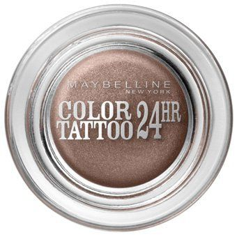 Maybelline Colour Tattoo 24 hour Eyeshadow On and On Bronze - A lovely cream eyeshadow that is quick and easy to apply with your fingers. The perfect shade for blue-eyed girls!
