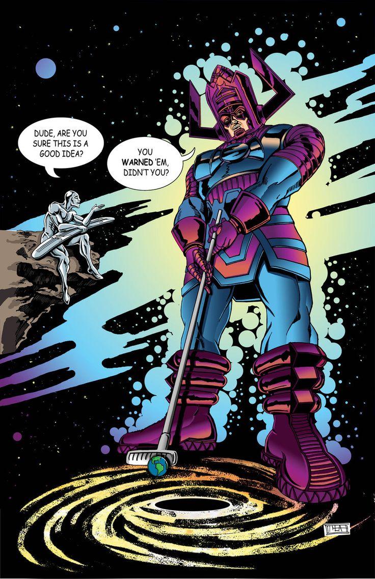 Galactus Plays Minigolf by on