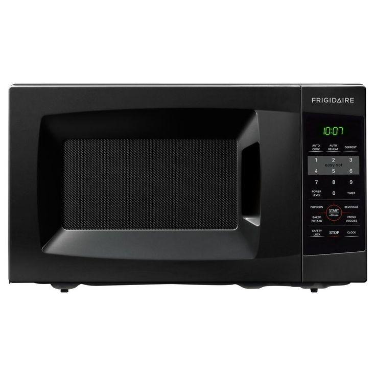 Frigidaire 0.7 Cu. Ft. Black Countertop Microwave (Frigidaire 0.7 Cu. Ft. Countertop Microwave-Black), Size Compact (Glass)