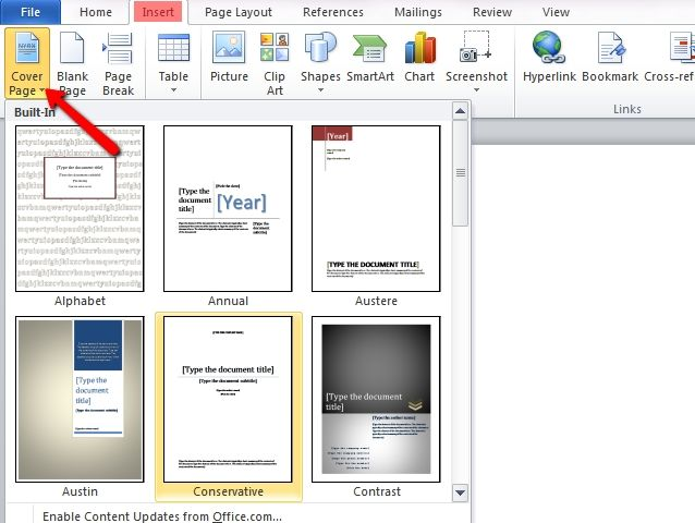 how to make microsoft word look professional
