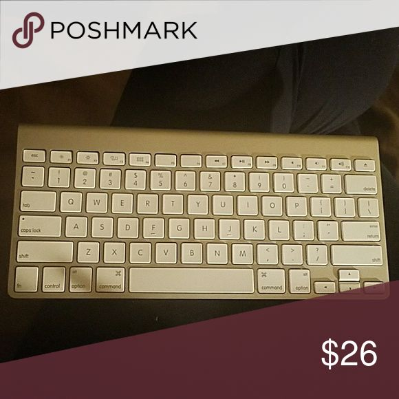 Apple Keyboard for I products This is an Apple Wireless keyboard works perfectly. A few of the keys are slightly warped but does not affect the functionality. The box it comes in is very worn.  Works on all Apple or Mac products. Accessories