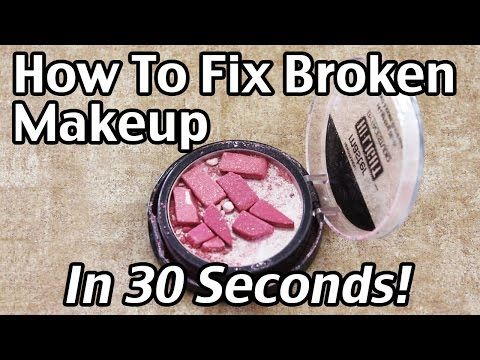 How To Fix Broken Makeup - Quick And Easy Step By Step Instructions