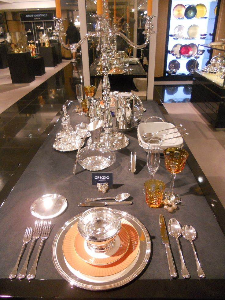 #elegance  #lifestyle Table in Harrods