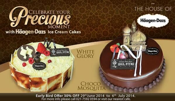 Häagen-Dazs: Promo Early Bird, Discount 30% Off @HaagenDazsID