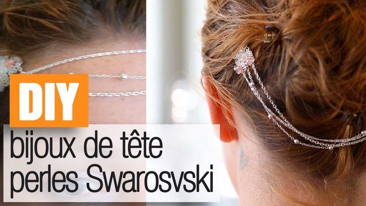 Faire un bijou de tête Swarovski - tuto.DIY bijoux