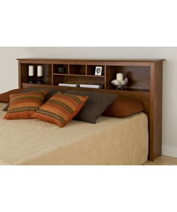 @Overstock.com.com - Chelsea bookcase-style headboard has 6 compartments  Versatile headboard provides ample space for bedside reading materials, clocks, photographs and decorative accessoriesBed accessory can be used with any king size bed framehttp://www.overstock.com/Home-Garden/Chelsea-Cherry-King-Size-Storage-Headboard/2967369/product.html?CID=214117 $201.99