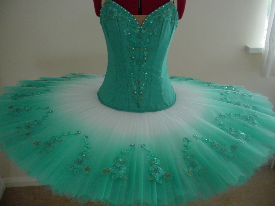 Airbrush Sea Green Ballet Tutu ♡ To follow more boards dedicated to dance photography, costuming, pas de deux, little ballerinas, quotes, pointe shoes, makeup and ballet feet follow me www.pinterest.com/carjhb. I also direct the Mogale Youth Ballet and if you'd like to be patron of our company and keep art alive in Africa, head over to www.facebook.com/mogaleballet like us and send me a message!