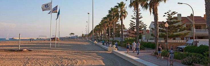 Paseo Marítimo de Roquetas de Mar #RoquetasdeMar #TourismSpain #Spain #Andalucia #Almeria #VisitRoquetas #Turismo #Tourism #Vacation #Holidays #Vacaciones