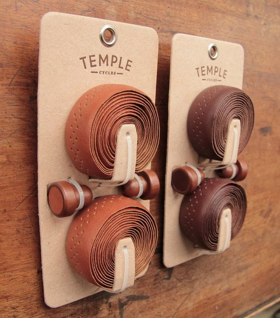 Temple Cycles Premium Leather Bar Tape for bicycle by TempleCycles