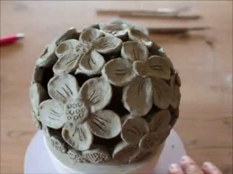 Keramik Gartenlicht - YouTube