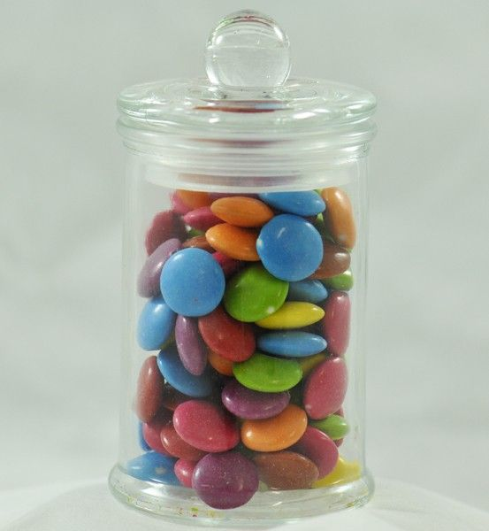 Glass Sealed Lid Candy Jar for Lolly Tables - Favour Size
