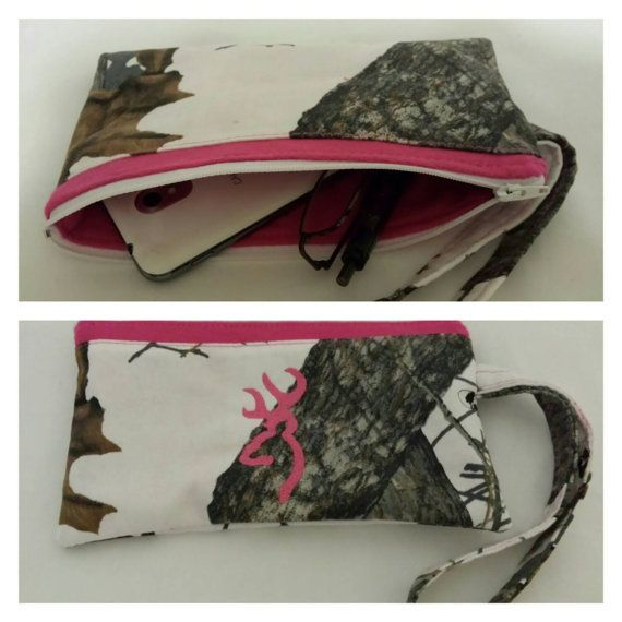 Check out this item in my Etsy shop https://www.etsy.com/listing/230446566/winter-mossy-oak-camo-zipper-pouch-camo