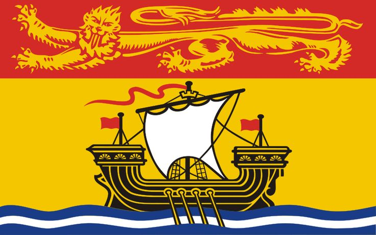 New Brunswick, Canada Flag