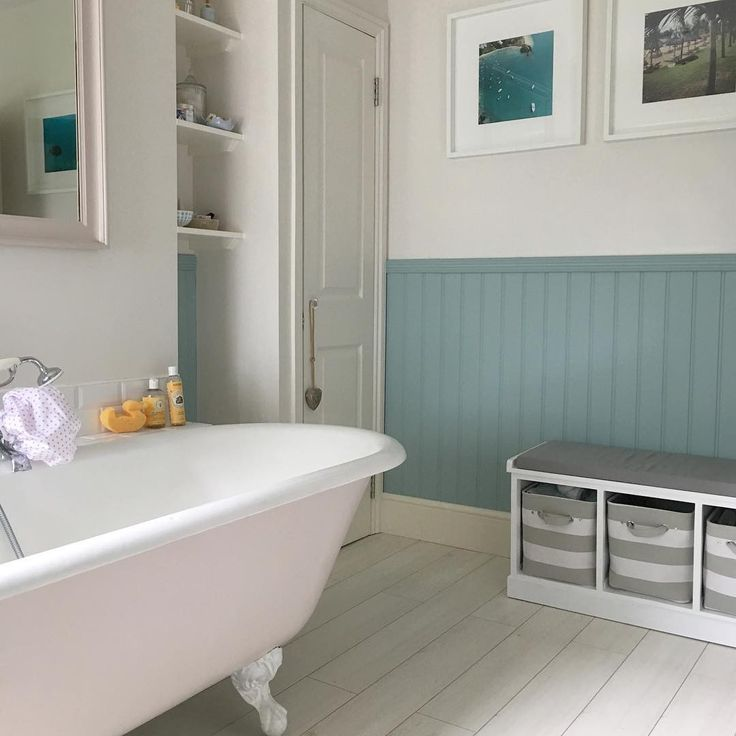 Pink Amp Blue Nautical Bathroom Including Duck Egg Tongue
