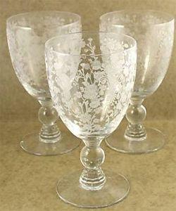 Duncan and Miller First Love - Depression era elegant glass