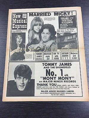 NME-New-Musical-Express-feat-Micky-Donlenz-Paul-McCartney-July-27th-1968