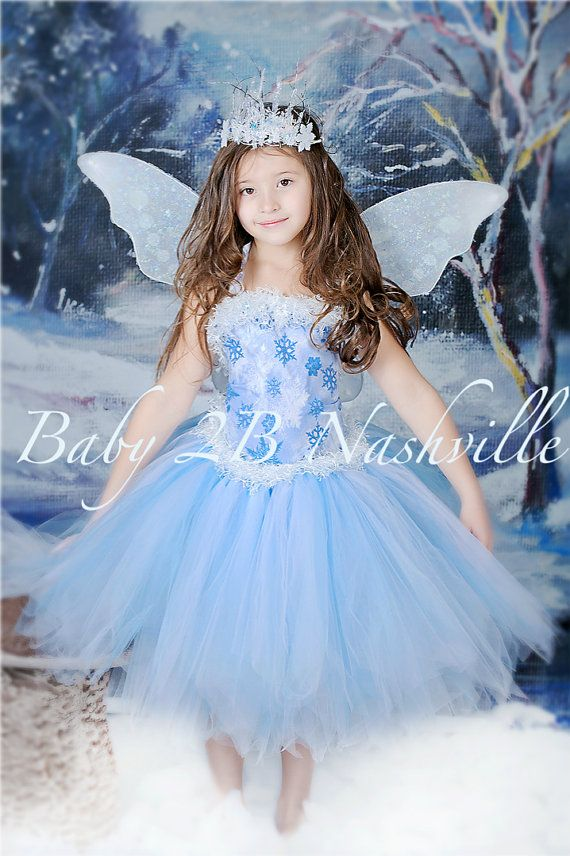 Winter Snow Fairy Costume Ice Fairy Costume Snow Princess