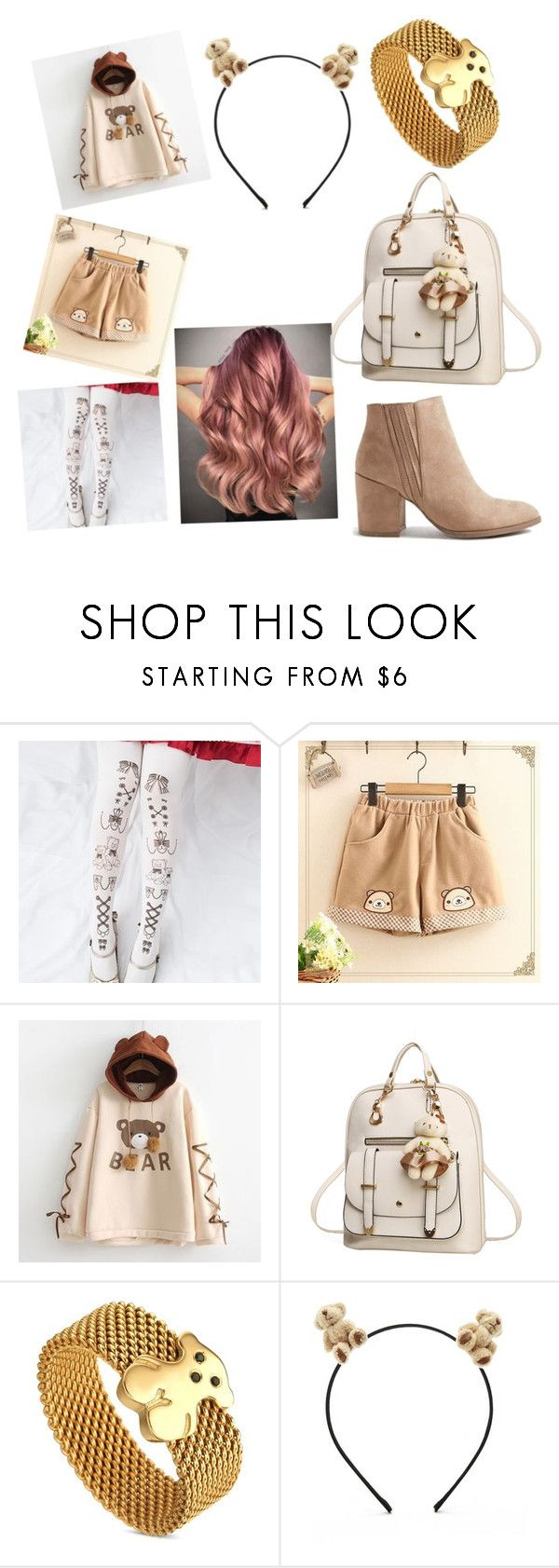 """""""Untitled #35"""" by youtube-zoella-pointlessblog on Polyvore featuring beauty, TOUS and Forever 21"""