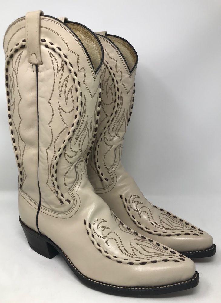 2c91fb679fe Details about Men's Dan Post Black Leather Cowboy Western Boots Size ...