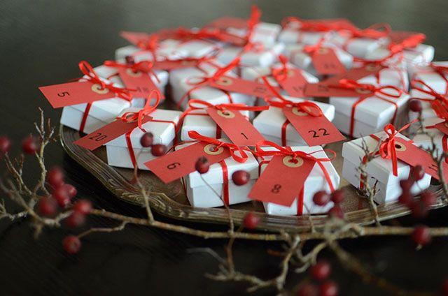 DIY Gör egen, riktig chokladkalender till jul   Hemma med Helena   Amelia bloggar
