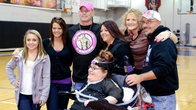 Cena number one Make A Wish celebrity granter