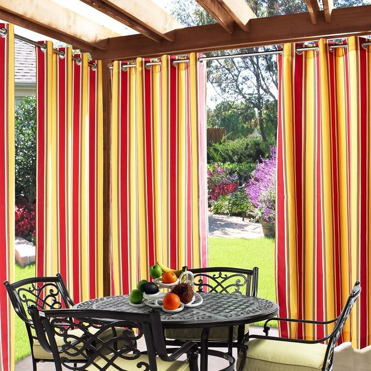 Perfect Find This Pin And More On Outdoor Curtains.