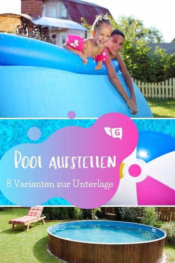 Pool Auf Rasen Aufstellen 8 Varianten Zur Unterlage Gartendialog De Pool Aufstellen Pool Pool Unterlage