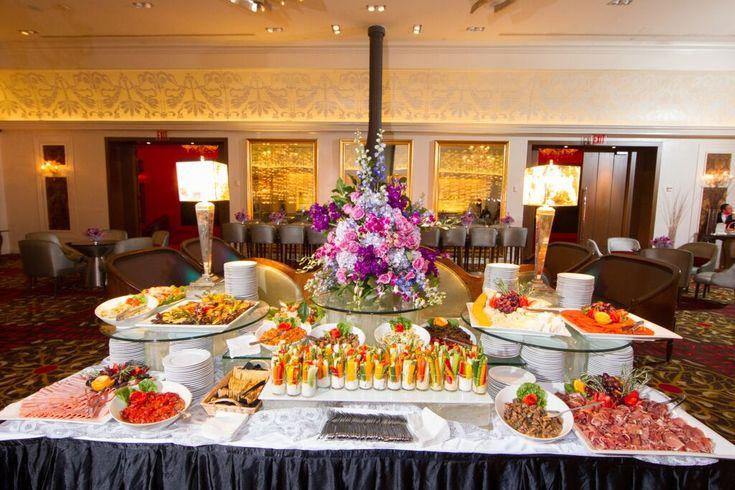 Bar bat mitzvah kosher catering food display for