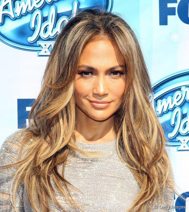 Jennifer Lopez et sa coloration  bronde