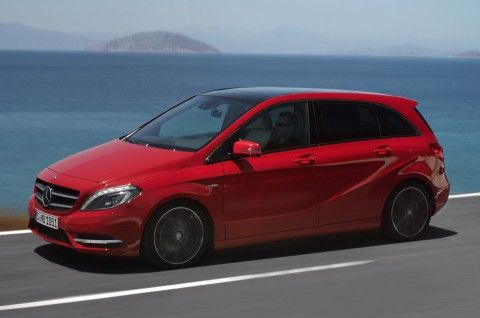Mercedes-Benz B180 CDI SE. My rental car in U.K. that I really liked.