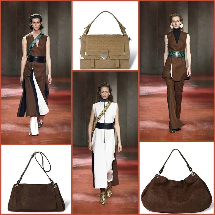 Looks by Marni for the next a/w collection and Orciani bags. Bags available on: stylenovo.com