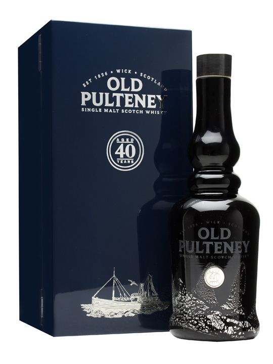An impressive and long awaited bottling from Old Pulteney - their oldest release yet, at a hefty 40 years old. It's presented in a hefty box with a book tracing the history of the distillery and th...