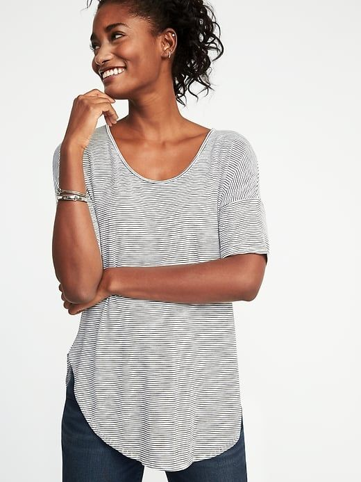 360a84947576 Relaxed Luxe Slub-Knit Tunic for Women | Old Navy | Style ...