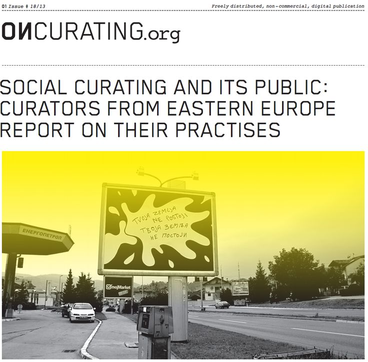 "The position of the ""social curator"" emerged in the 2000s after a slow process of development. The main curators associated with this practice have become the leaders of museums, galleries and art institutions. However, this process was drastically changed by the authoritarian turn in 2010. The article sketches the history of social curating after the transition and also intends to highlight the possibilities in the current political situation."