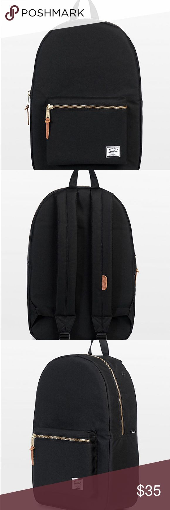 EUC Herschel Black Backpack / Bookbag EUC! Small dirt stain on the front that can be washed out. Zippers all work. Has a laptop sleeve. Ask questions! Bundle and save :) Herschel Supply Company Bags Backpacks