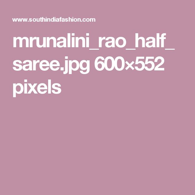 mrunalini_rao_half_saree.jpg 600×552 pixels