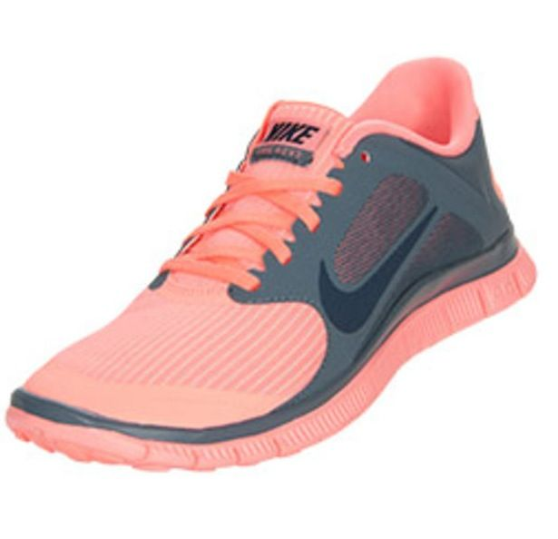 Grey/Coral Nike Women's running shoes