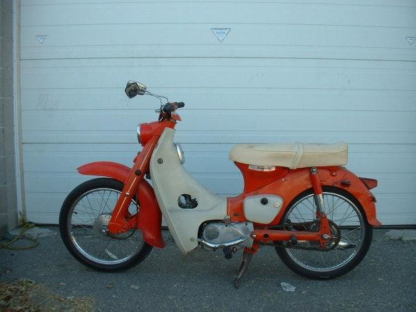 1961 Honda C50 Cub