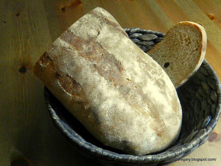 Stare Gary: Pan Rustico - chleb hiszpański - styczniowa piekarnia